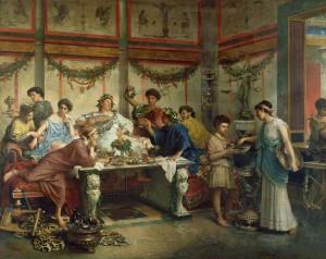 Római étkezés